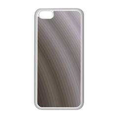 Fractal Background With Grey Ripples Apple iPhone 5C Seamless Case (White)