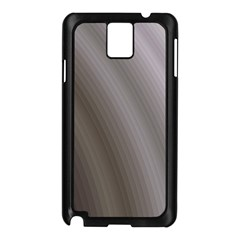 Fractal Background With Grey Ripples Samsung Galaxy Note 3 N9005 Case (Black)