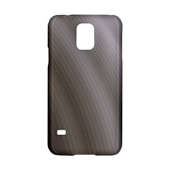Fractal Background With Grey Ripples Samsung Galaxy S5 Hardshell Case