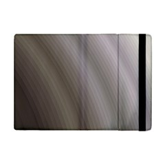 Fractal Background With Grey Ripples iPad Mini 2 Flip Cases