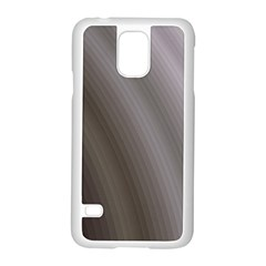 Fractal Background With Grey Ripples Samsung Galaxy S5 Case (White)