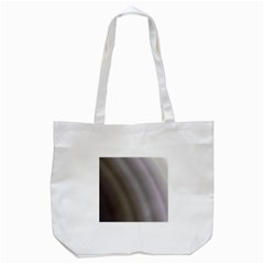 Fractal Background With Grey Ripples Tote Bag (White)
