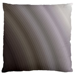 Fractal Background With Grey Ripples Standard Flano Cushion Case (One Side)
