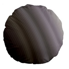Fractal Background With Grey Ripples Large 18  Premium Flano Round Cushions