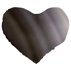 Fractal Background With Grey Ripples Large 19  Premium Flano Heart Shape Cushions
