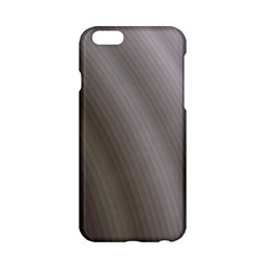 Fractal Background With Grey Ripples Apple iPhone 6/6S Hardshell Case