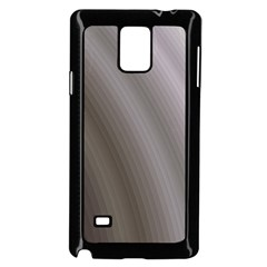Fractal Background With Grey Ripples Samsung Galaxy Note 4 Case (Black)