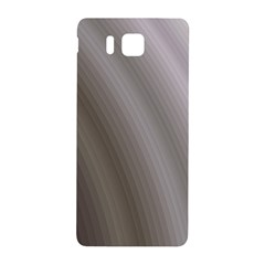 Fractal Background With Grey Ripples Samsung Galaxy Alpha Hardshell Back Case