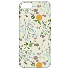 Floral Kraft Seamless Pattern Apple iPhone 5 Classic Hardshell Case