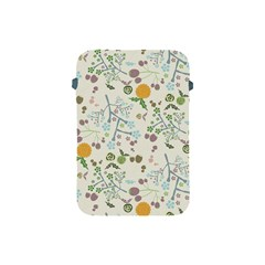 Floral Kraft Seamless Pattern Apple Ipad Mini Protective Soft Cases