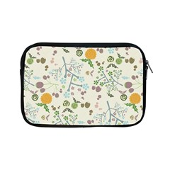 Floral Kraft Seamless Pattern Apple iPad Mini Zipper Cases