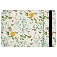 Floral Kraft Seamless Pattern iPad Air 2 Flip