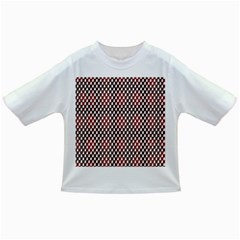 Squares Red Background Infant/toddler T Shirts