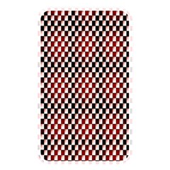 Squares Red Background Memory Card Reader