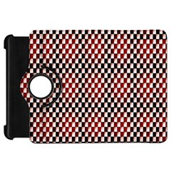 Squares Red Background Kindle Fire HD 7