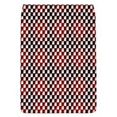 Squares Red Background Flap Covers (L)