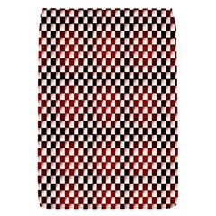 Squares Red Background Flap Covers (S)