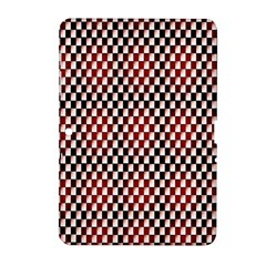 Squares Red Background Samsung Galaxy Tab 2 (10.1 ) P5100 Hardshell Case