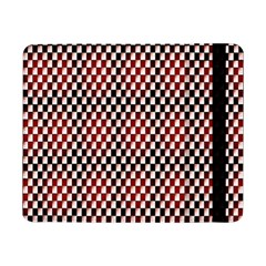 Squares Red Background Samsung Galaxy Tab Pro 8.4  Flip Case