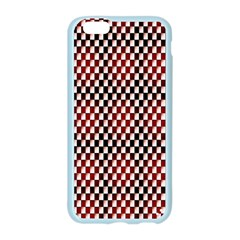 Squares Red Background Apple Seamless iPhone 6/6S Case (Color)