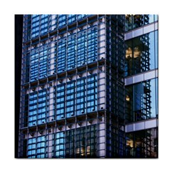 Modern Business Architecture Tile Coasters