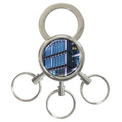 Modern Business Architecture 3 Ring Key Chains