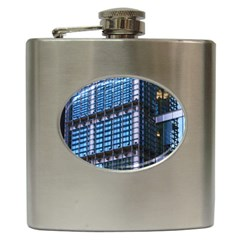 Modern Business Architecture Hip Flask (6 oz)