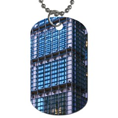 Modern Business Architecture Dog Tag (Two Sides)