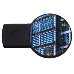 Modern Business Architecture USB Flash Drive Round (2 GB)