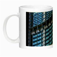 Modern Business Architecture Night Luminous Mugs