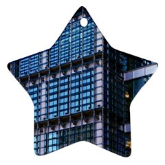 Modern Business Architecture Star Ornament (two Sides)