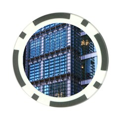 Modern Business Architecture Poker Chip Card Guard