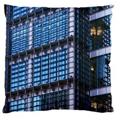 Modern Business Architecture Large Cushion Case (One Side)