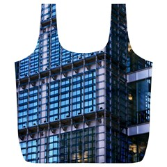 Modern Business Architecture Full Print Recycle Bags (L)