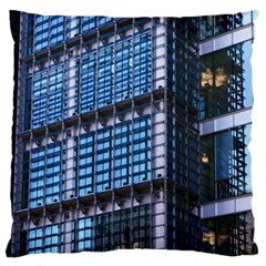 Modern Business Architecture Large Flano Cushion Case (One Side)