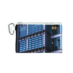 Modern Business Architecture Canvas Cosmetic Bag (S)