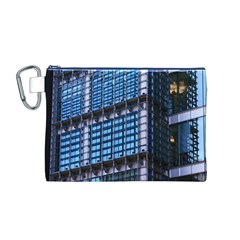 Modern Business Architecture Canvas Cosmetic Bag (m)