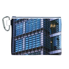 Modern Business Architecture Canvas Cosmetic Bag (l)