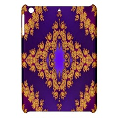 Something Different Fractal In Orange And Blue Apple iPad Mini Hardshell Case