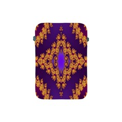 Something Different Fractal In Orange And Blue Apple iPad Mini Protective Soft Cases