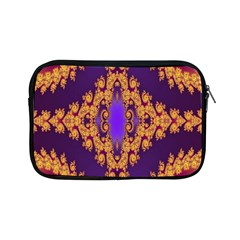 Something Different Fractal In Orange And Blue Apple iPad Mini Zipper Cases