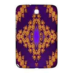 Something Different Fractal In Orange And Blue Samsung Galaxy Note 8.0 N5100 Hardshell Case