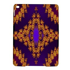 Something Different Fractal In Orange And Blue iPad Air 2 Hardshell Cases