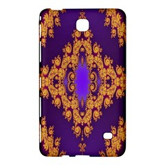 Something Different Fractal In Orange And Blue Samsung Galaxy Tab 4 (7 ) Hardshell Case