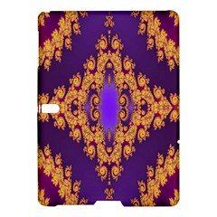 Something Different Fractal In Orange And Blue Samsung Galaxy Tab S (10.5 ) Hardshell Case