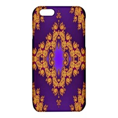 Something Different Fractal In Orange And Blue iPhone 6/6S TPU Case