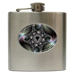 Magic Swirl Hip Flask (6 Oz)