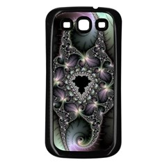 Magic Swirl Samsung Galaxy S3 Back Case (Black)
