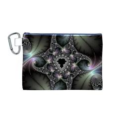 Magic Swirl Canvas Cosmetic Bag (M)