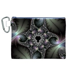 Magic Swirl Canvas Cosmetic Bag (xl)